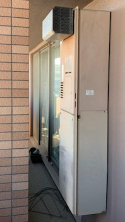 名古屋市熱田区でリンナイの暖房給湯器RUFH-V2400SAW2-3の交換工事