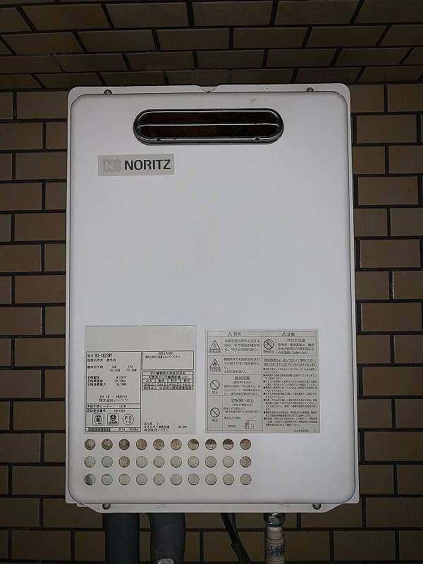 名古屋市昭和区でノーリツの給湯器GQ-1623WEの交換工事