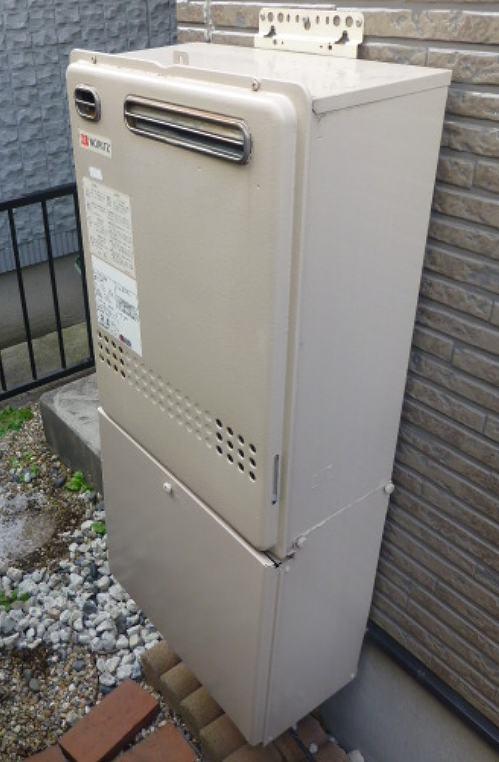 名古屋市瑞穂区でノーリツの給湯器GT-2022SAWXの後継機種への交換工事