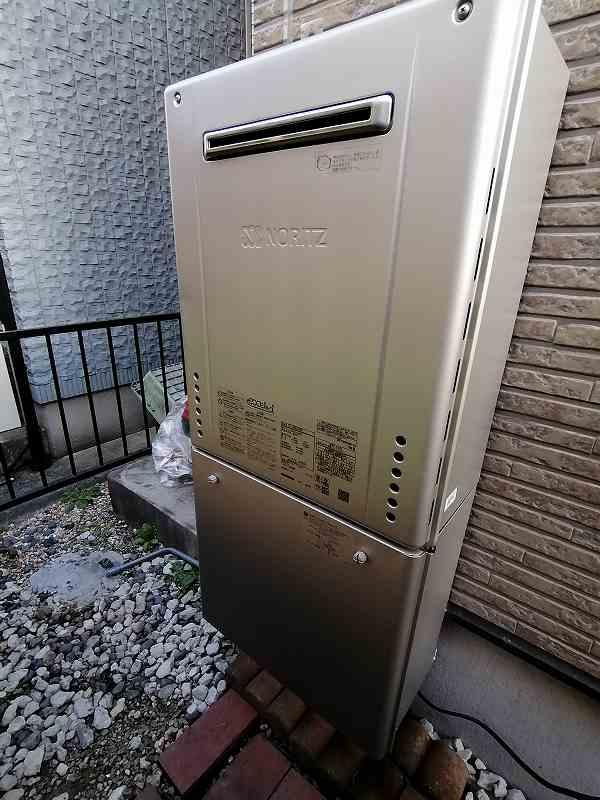 名古屋市瑞穂区でノーリツの給湯器GT-C2062SAWXへの交換工事