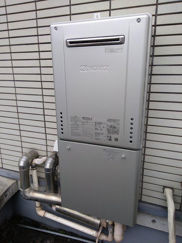 名古屋市中村区でノーリツの給湯器GT-C2462SAWXへの交換工事