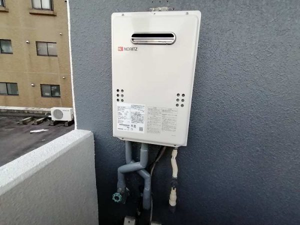 名古屋市中区でノーリツの給湯器GQ-1639WSへの交換工事