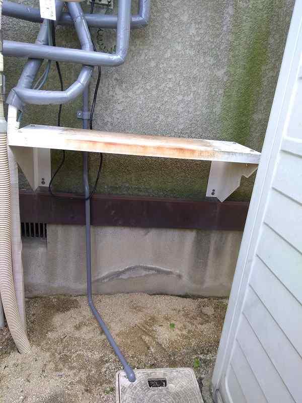 給湯器のドレン配管