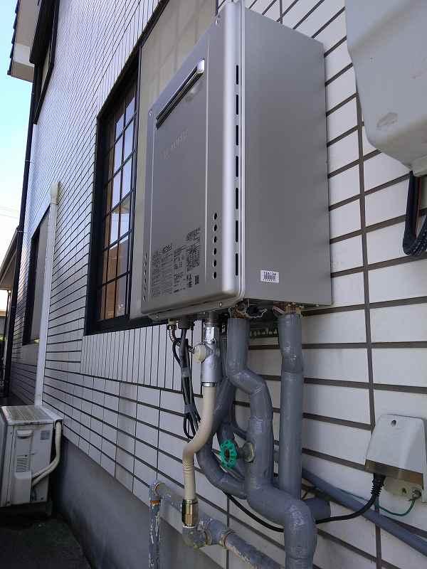 岡崎市でノーリツの給湯器GT-C2462PAWXへの交換工事