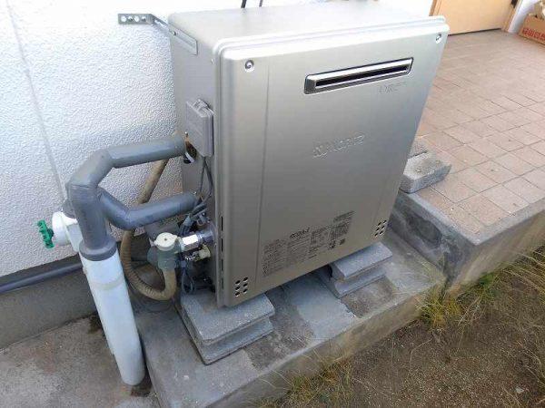 名古屋市名東区でノーリツの据置給湯器GT-C2462SARXへの交換工事