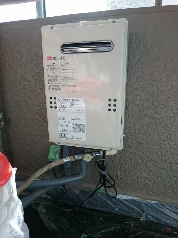 ノーリツ給湯専用機GQ-2039への交換工事