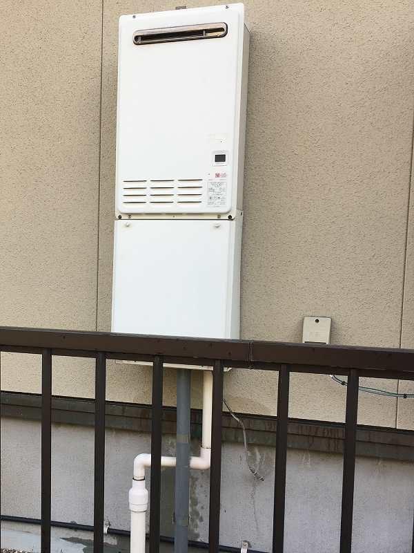 パロマ給湯専用機PH-201CWからの取替交換工事
