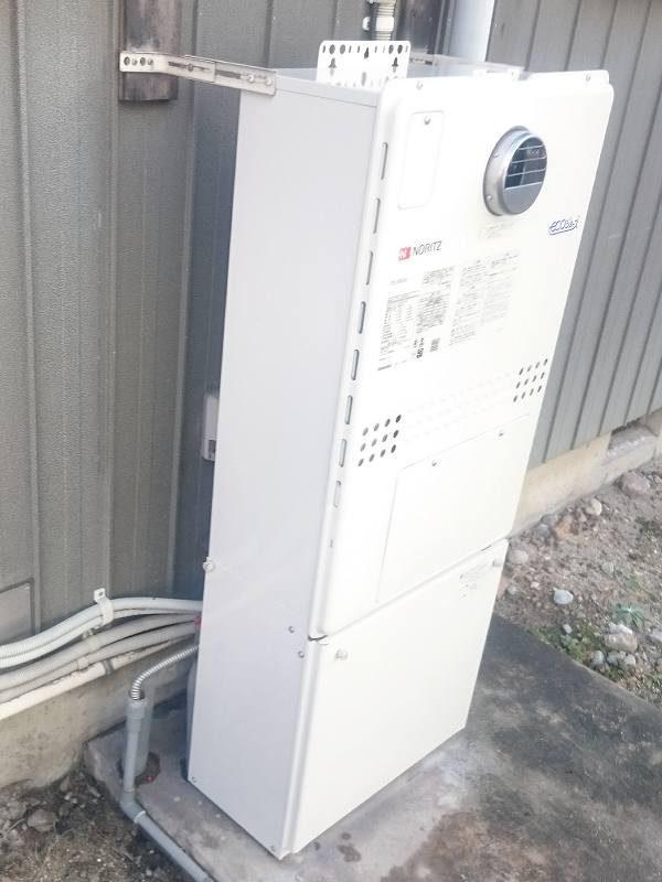 ノーリツの暖房機能付きふろ給湯器GTH-2450AWX-1へ交換工事